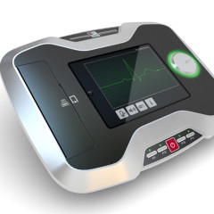 Dispositivo ECG con stampante integrata